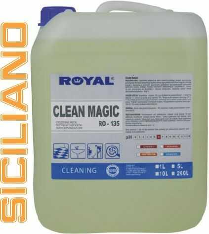 Środek myjąco - dezynfekujący Royal Clean Magic SICILIANO 5 L