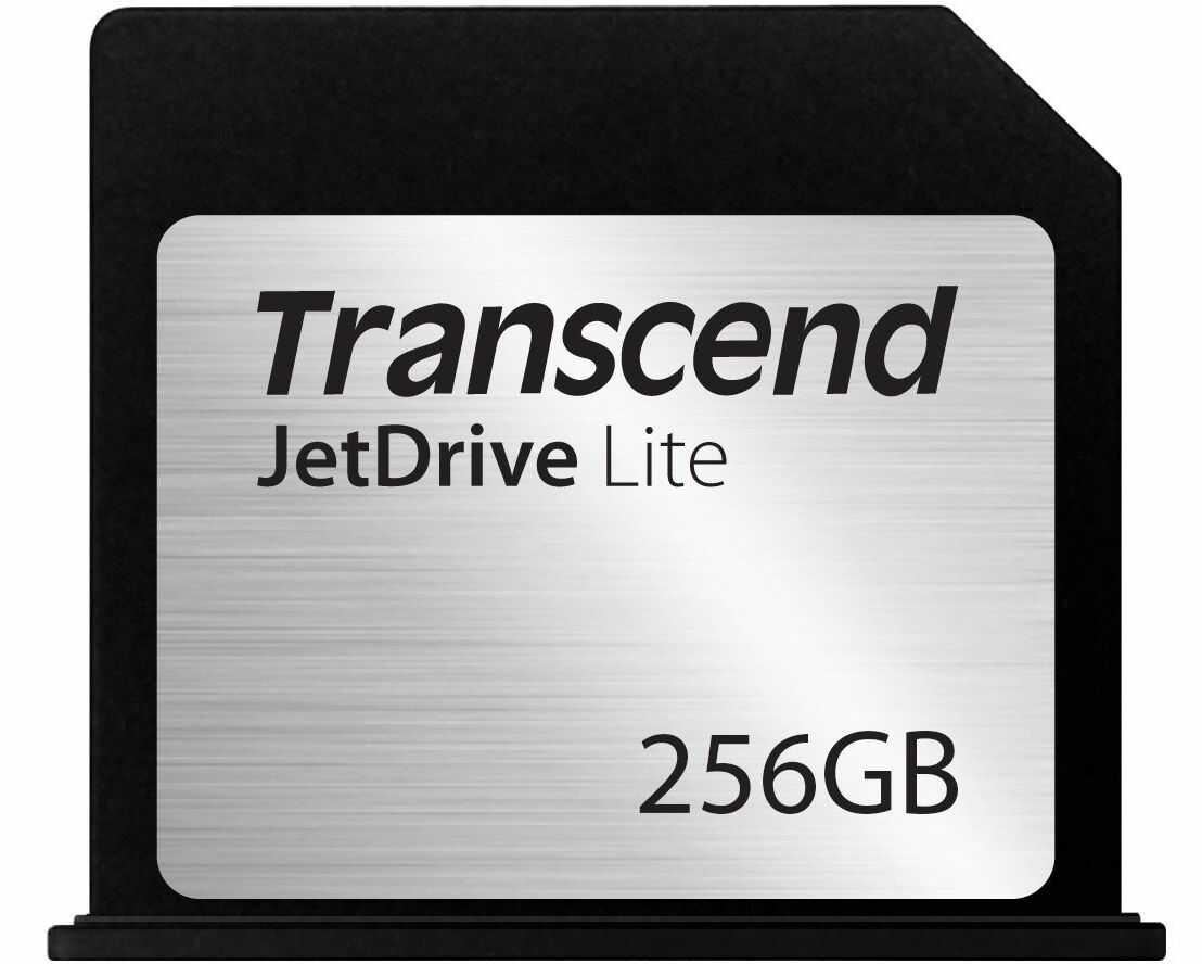 Transcend 256GB JetDrive Lite 130 Storage Expansion Card for 13-Inch MacBook Air 2010-2017 (TS256GJDL130) Czarny