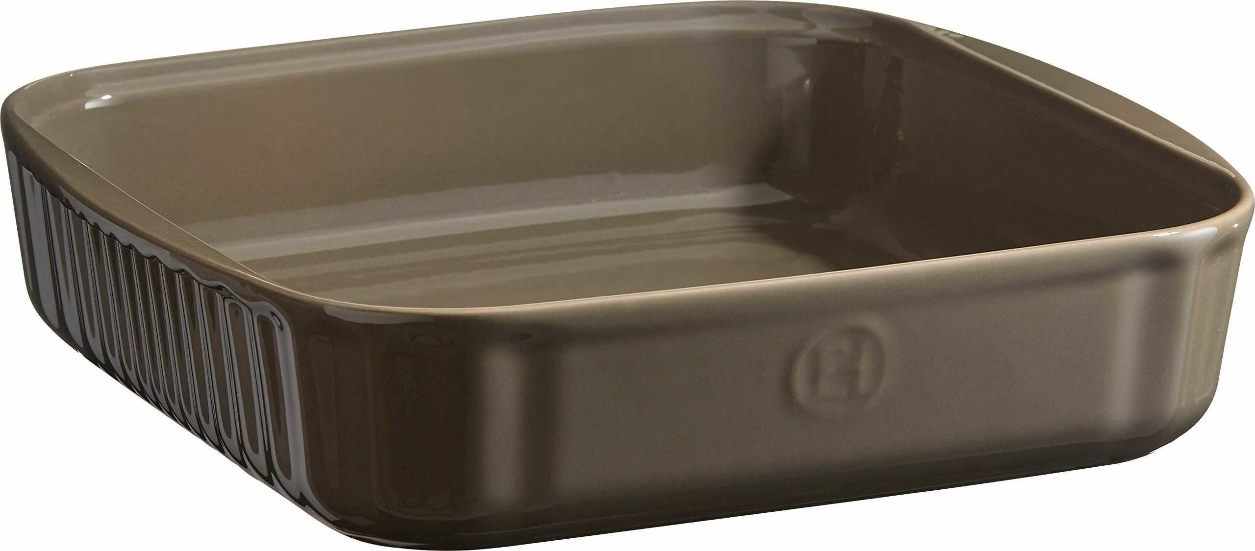 Emile Henry ceramiczna eh952080 kwadratowa forma do pieczenia 28 x 26 x 6,5 cm, ceramika, Silex, 24 cm