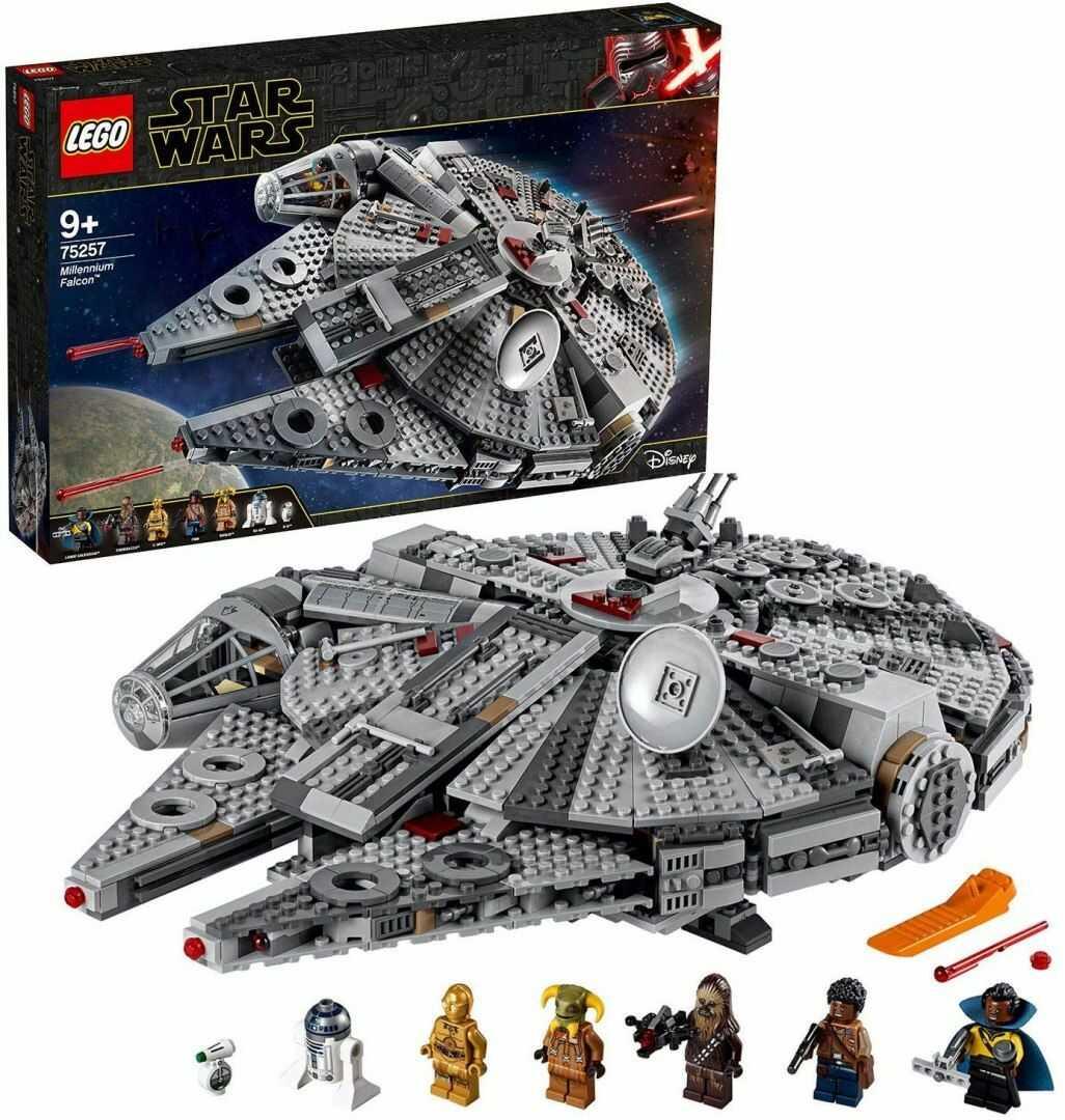 LEGO  75257 Star Wars - Sokół Millennium - oryginalna gwarancja LEGO