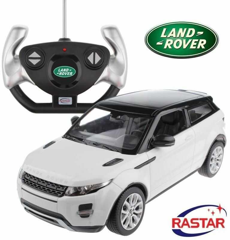 Duży Licencjonowany Zdalnie Sterowany Range Rover Evoque (1:14) + Bezprzewodowy Pilot.