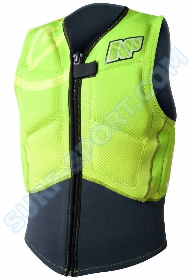Kamizelka Neil Pryde Rise , Np Impact Vest Front Zip 2015 C2-lime