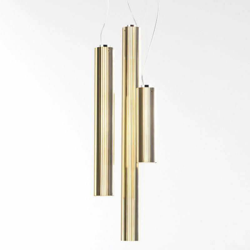 Rifly 30 złoty - Kartell - lampa wisząca