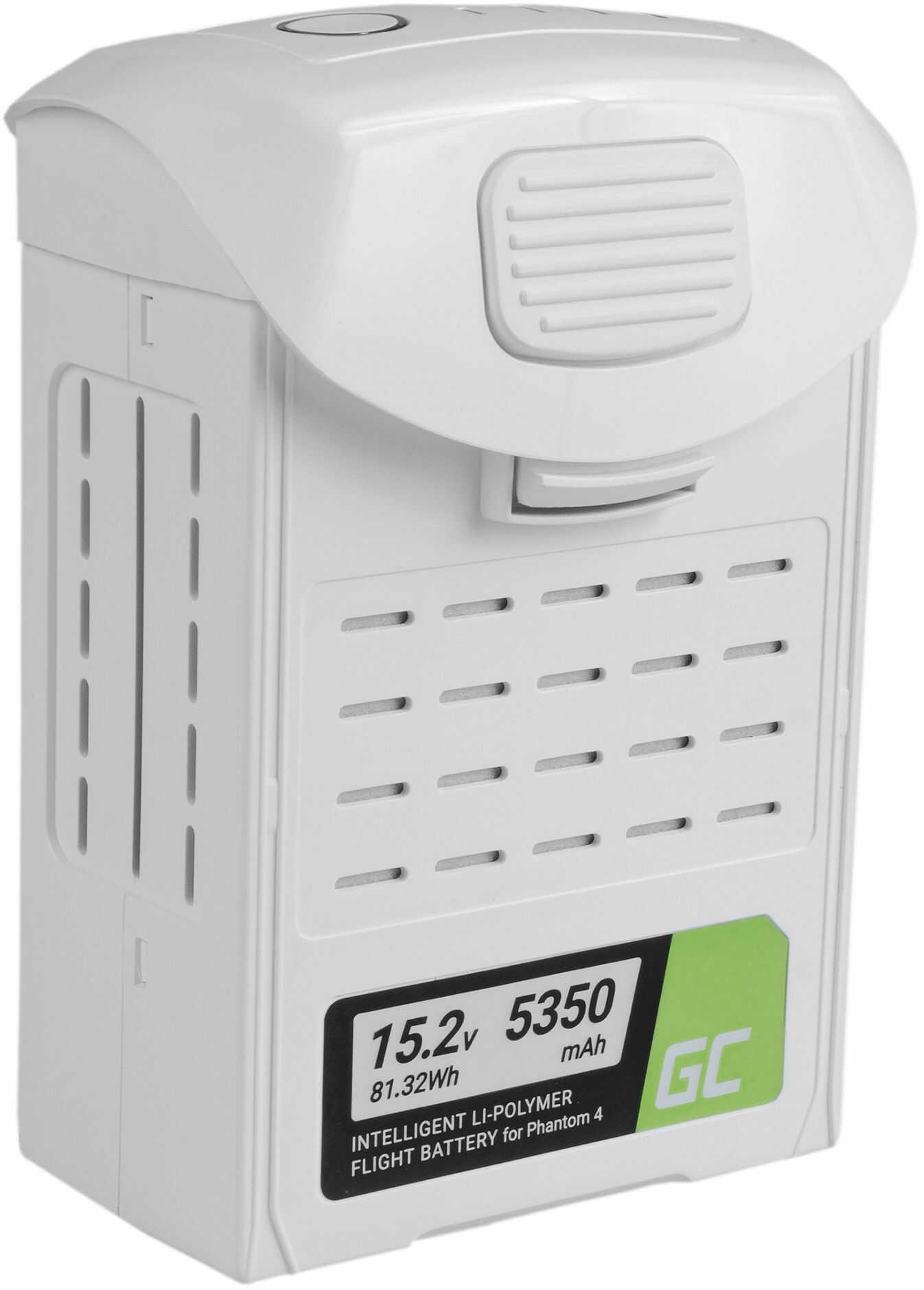 Bateria Akumulator Green Cell do drona DJI Phantom 4, Phantom 4 Pro, Phantom 4 Pro+ 15.2V 5350mAh 81.32Wh