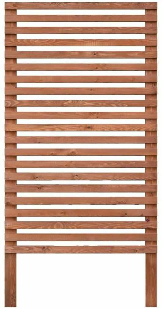 Płot kratkowy 90x180 cm drewniany GOTEBORG wiśnia WERTH-HOLZ