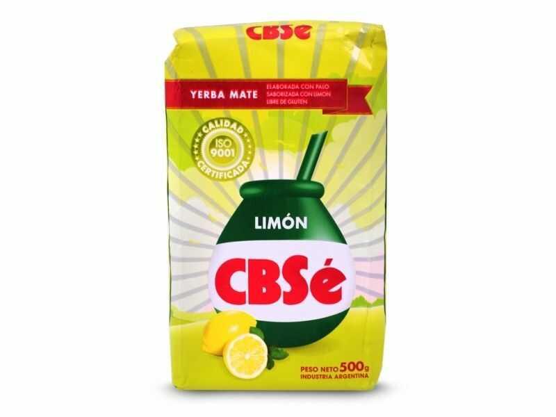 Yerba mate CBSe Limon cytrynowa 500g