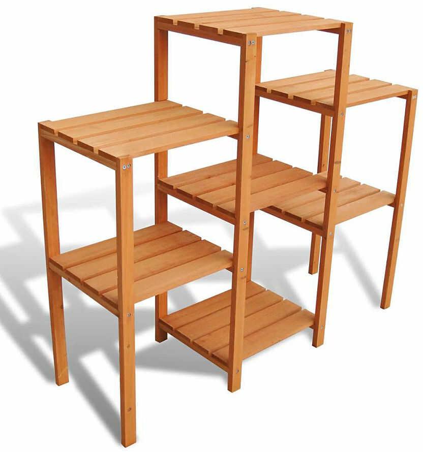 Drewniany kwietnik ogrodowy - Lonix