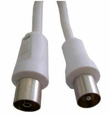 Kabel antenowy VIVANCO Promostick WT - GN 10m Biały