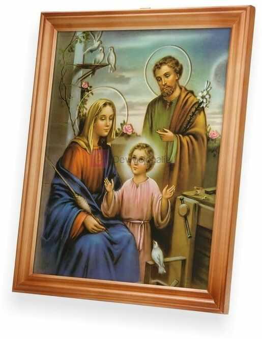 Obraz Święta Rodzina 27x23