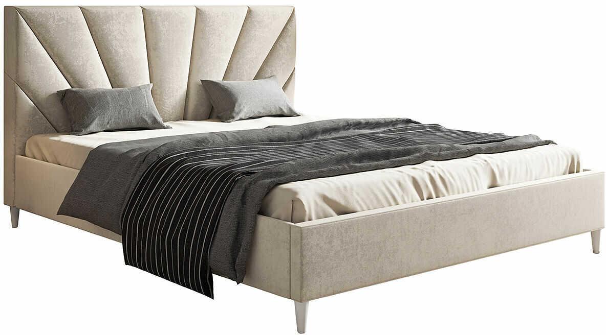 Tapicerowane łóżko z zagłówkiem 120x200 Marina - 48 kolorów