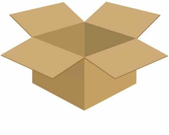 Karton klapowy tekt 3 - 320 x 295 x 135 520g/m2 fala C