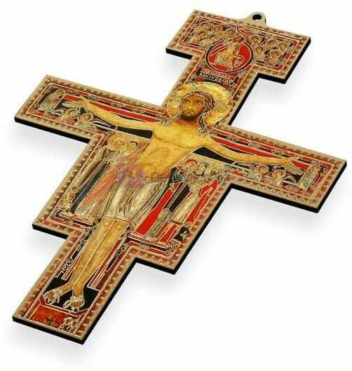 Krzyż z San Damiano - 18 cm