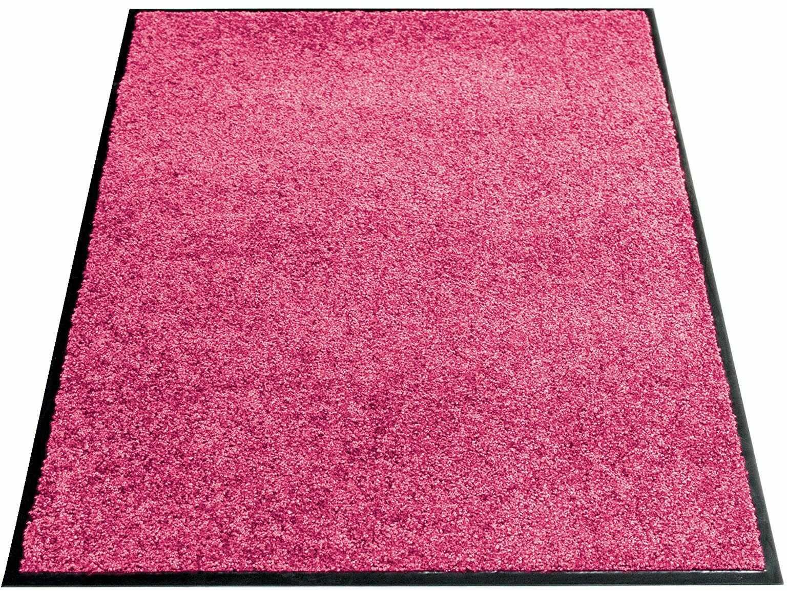 miltex Eazycare wycieraczka zatrzymująca brud, poliamid i winylowy spód, różowa, 60 x 90 cm