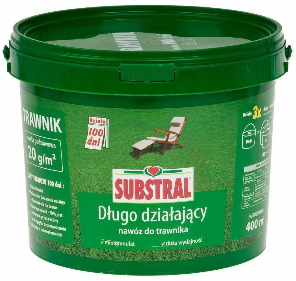 Nawóz do trawnika 100 DNI 8 kg SUBSTRAL