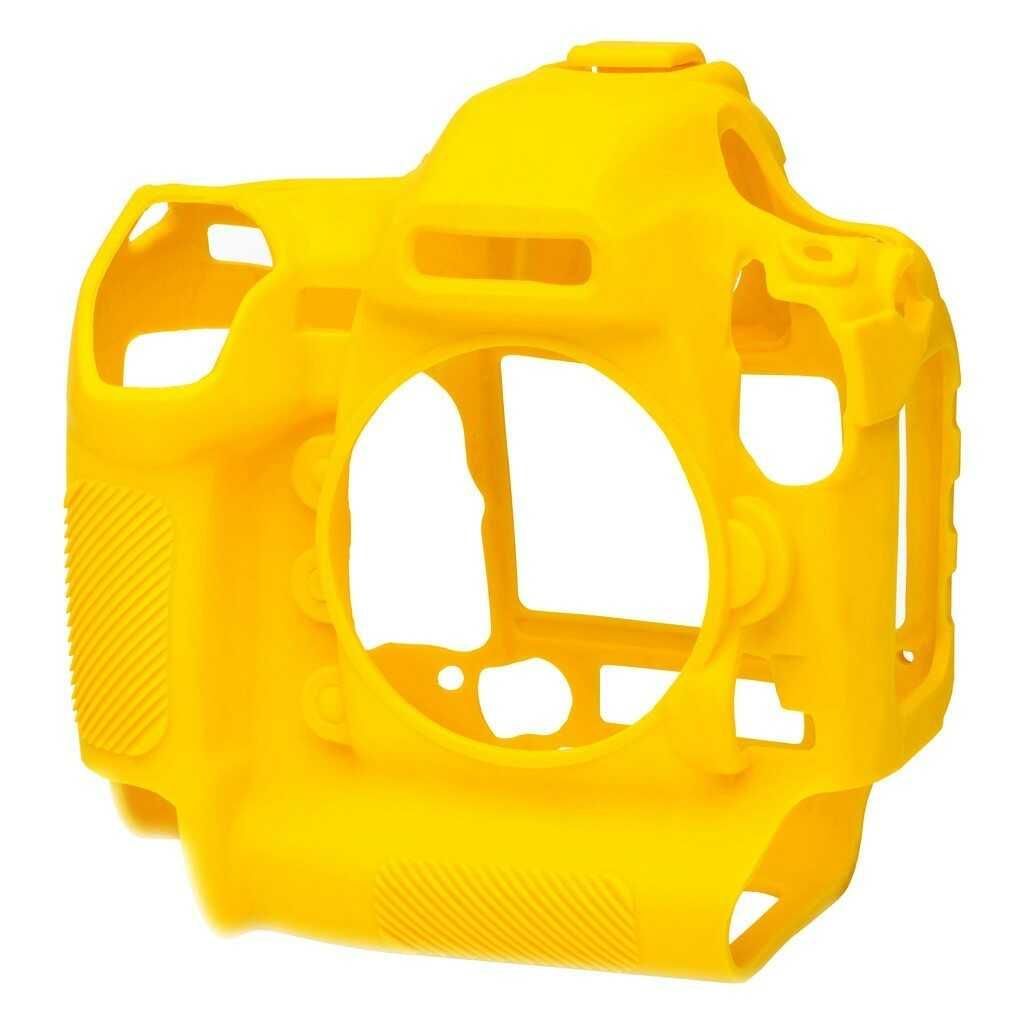 Osłona silikonowa easyCover do aparatu Nikon D5 żółta