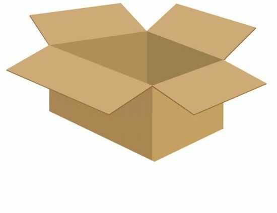 Karton klapowy tekt 3 - 360 x 225 x 275 520g/m2 fala C