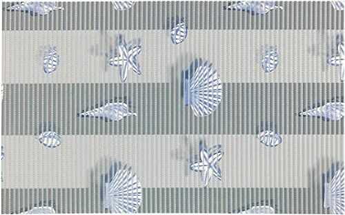 WENKO Mare, 50 x 80 cm, mata łazienkowa, mata kuchenna, tworzywo sztuczne, wielokolorowa, 50 x 0 x 80 cm