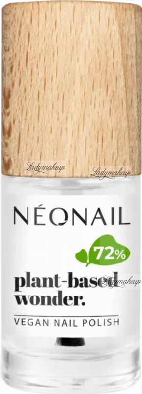 NeoNail - Plant-based wonder - Vegan Nail Polish - Pure Base / Top - Wegański top / baza do paznokci - 7,2 ml - 8743-7