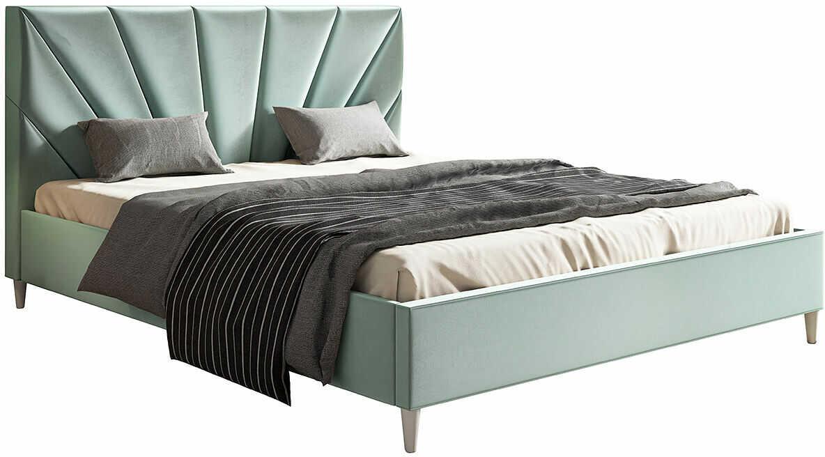 Dwuosobowe łóżko tapicerowane 180x200 Marina - 48 kolorów