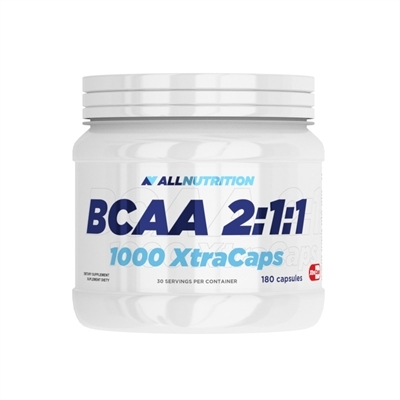 BCAA 2:1:1 1000 XtraCaps 180 kapsułek