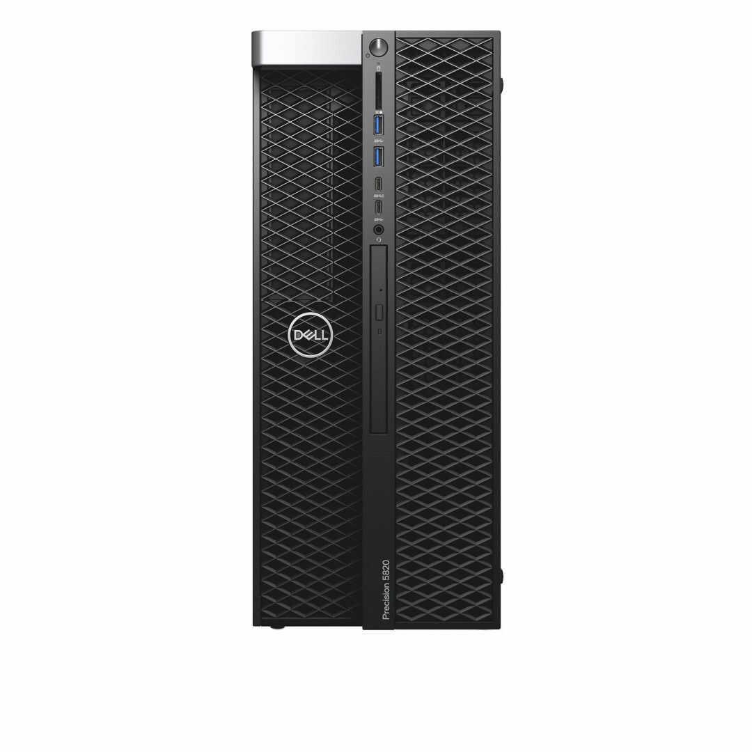 Komputer DELL Precision T5820 Xeon W-2123 32GB 256GB SSD P4000 DVD vPro Win10Pro 3YNBD