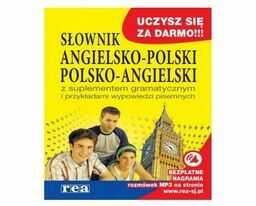 Słownik angielsko-polski, polsko-angielski z suplementem gramatycznym ZAKŁADKA DO KSIĄŻEK GRATIS DO KAŻDEGO ZAMÓWIENIA