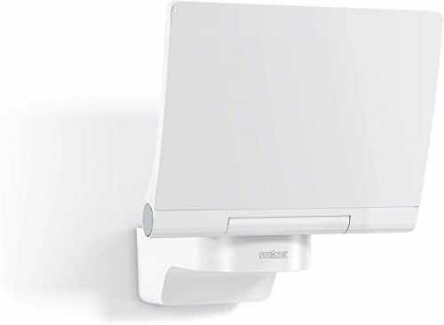 Steinel Reflektor LED XLED PRO 240 SL V2 biały, 19,5 W reflektor, 3000 K ciepła biel, 2120 lm, w zestawie uchwyt ścienny narożny