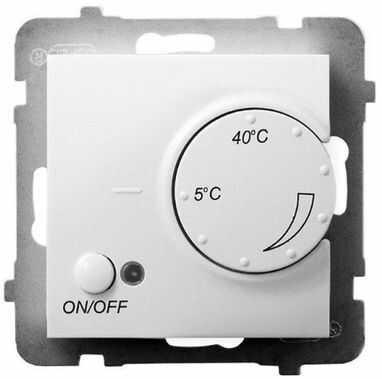 ARIA Regulator temperatury z czujnikiem napowietrznym biały RTP-1UN/m/00
