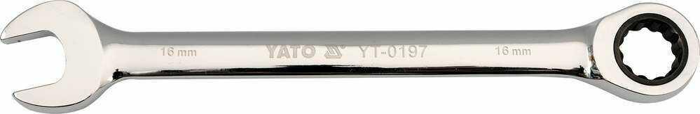 Klucz płasko-oczkowy z grzechotką 24 mm Yato YT-0202 - ZYSKAJ RABAT 30 ZŁ