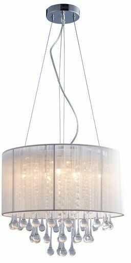 Lampa wisząca Verona RLD92174-8A Zuma Line nowoczesna oprawa w kolorze białym