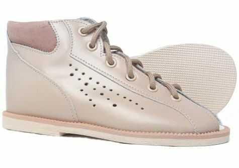 POSTĘP buty kapcie sandałki profilaktyczne z obcasem Thomasa BP 38 M / beż