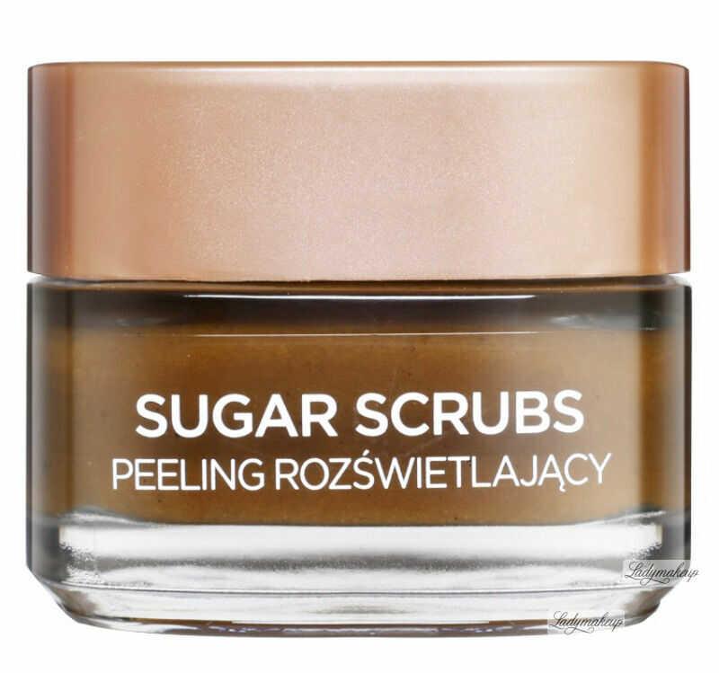 L''Oréal - SUGAR SCRUBS - GLOW PEELING - Rozświetlający peeling do twarzy