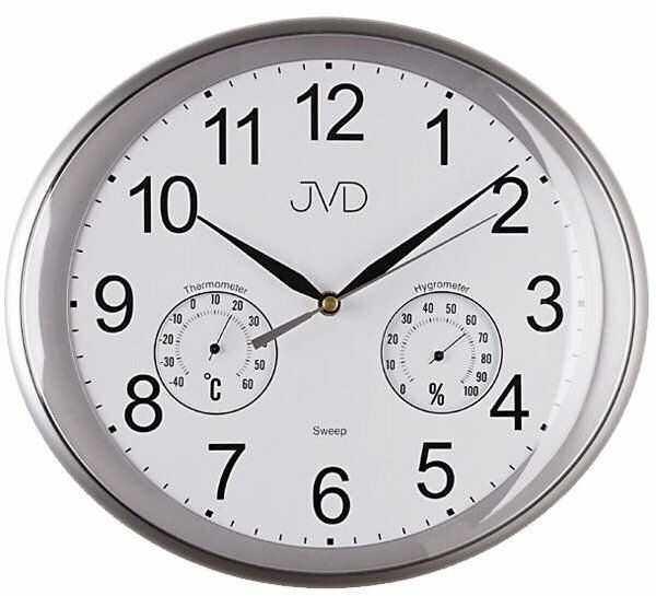 Zegar ścienny JVD HTP64.2 Termometr Higrometr
