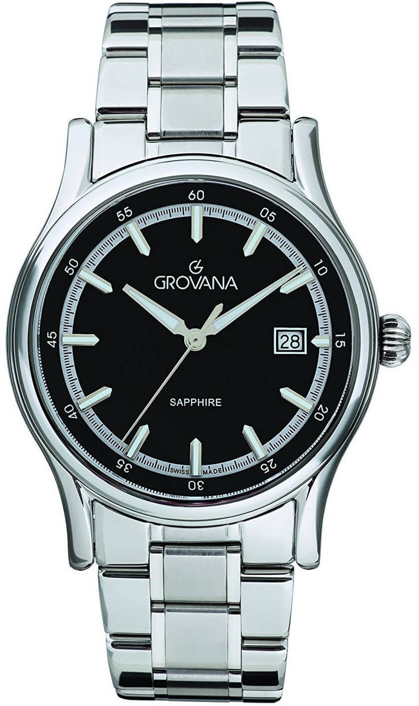 Zegarek Grovana 1734.1137 - CENA DO NEGOCJACJI - DOSTAWA DHL GRATIS, KUPUJ BEZ RYZYKA - 100 dni na zwrot, możliwość wygrawerowania dowolnego tekstu.