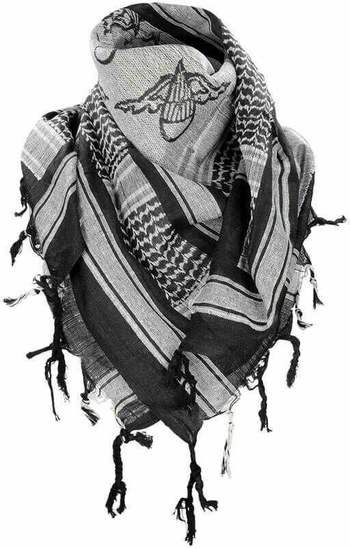 Mil-Tec Chusta Arafatka Paratrooper Biała