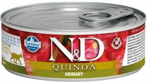 N&D QUINOA URINARY Adult Cat - puszka 80g