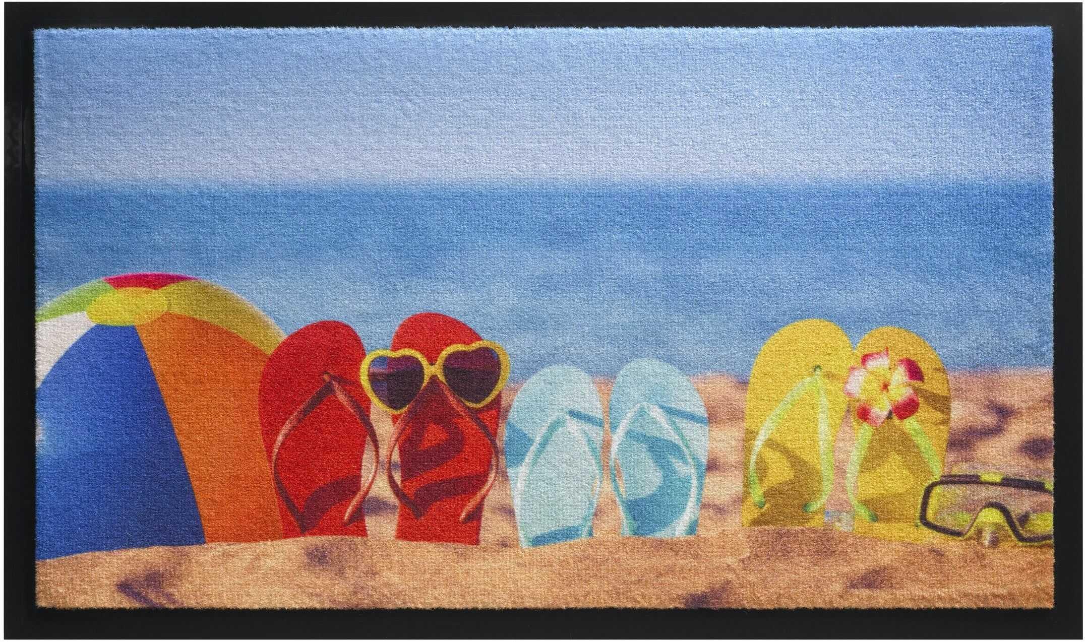 HMT 585004 Beach Life Design wycieraczka 45 x 75 cm wielokolorowa
