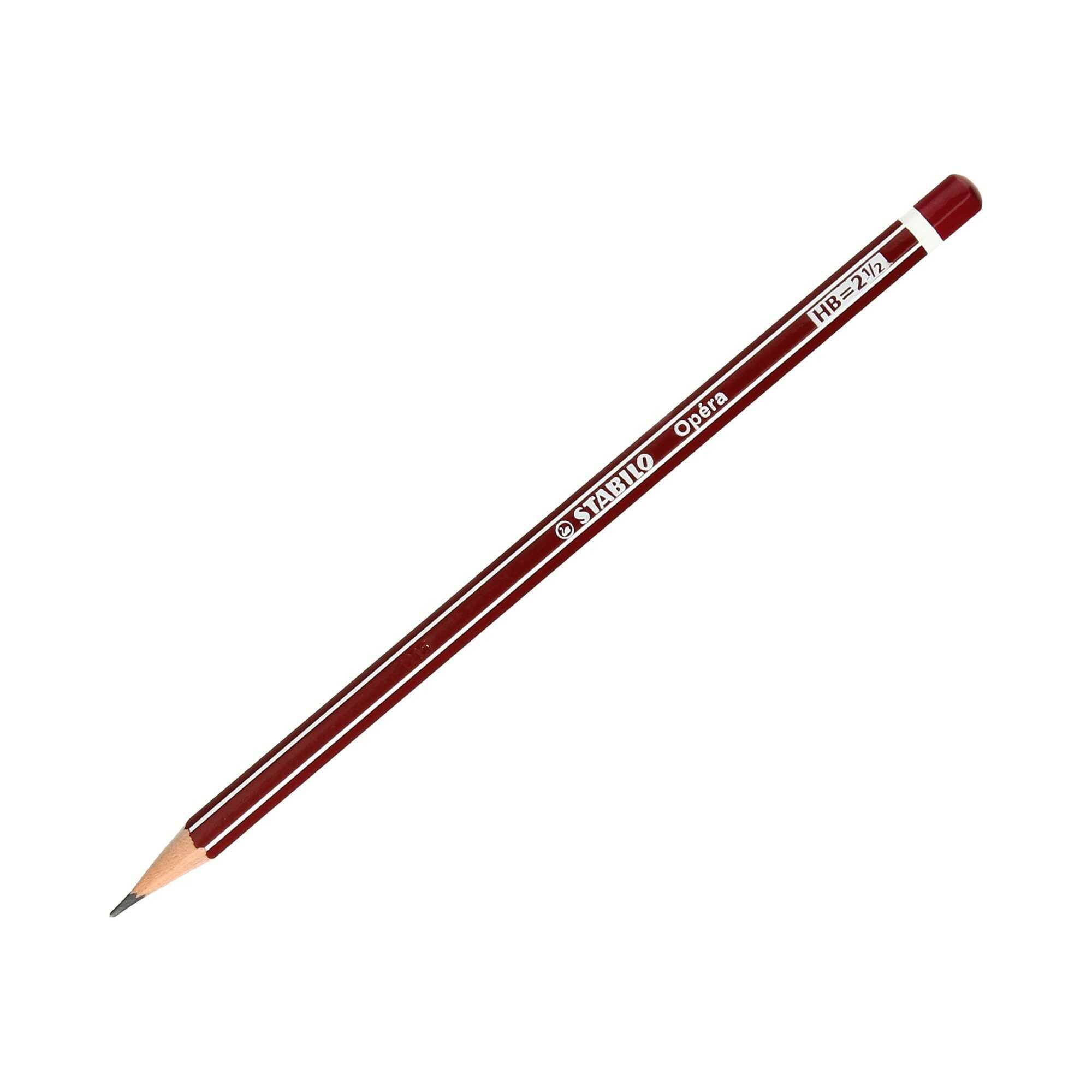 Ołówek techniczny HB b/g Opera Stabilo 285