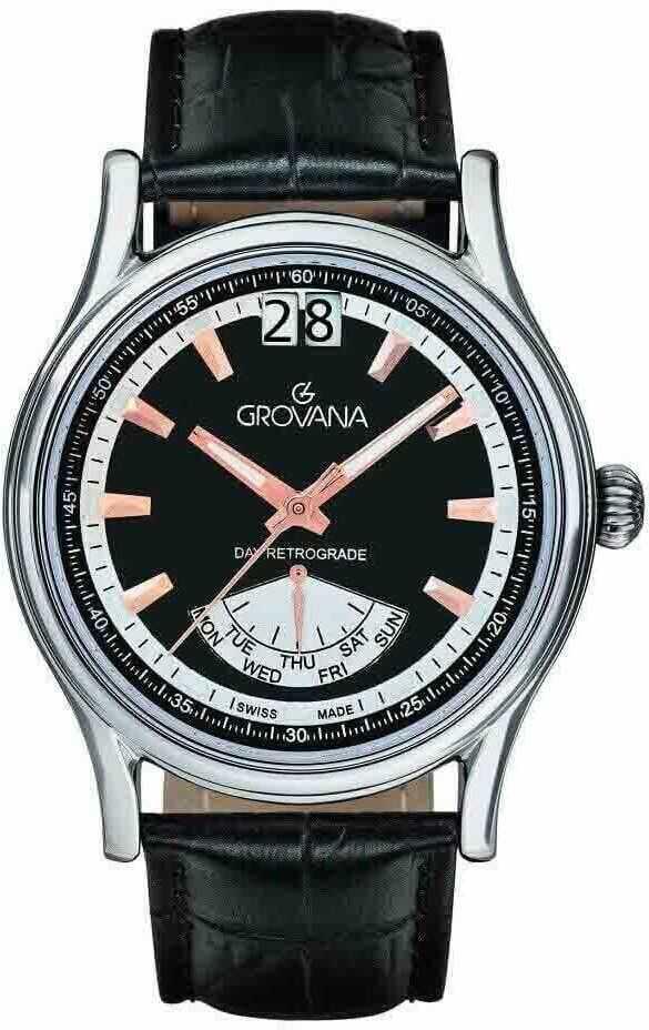 Zegarek Grovana 1733.1524 - CENA DO NEGOCJACJI - DOSTAWA DHL GRATIS, KUPUJ BEZ RYZYKA - 100 dni na zwrot, możliwość wygrawerowania dowolnego tekstu.
