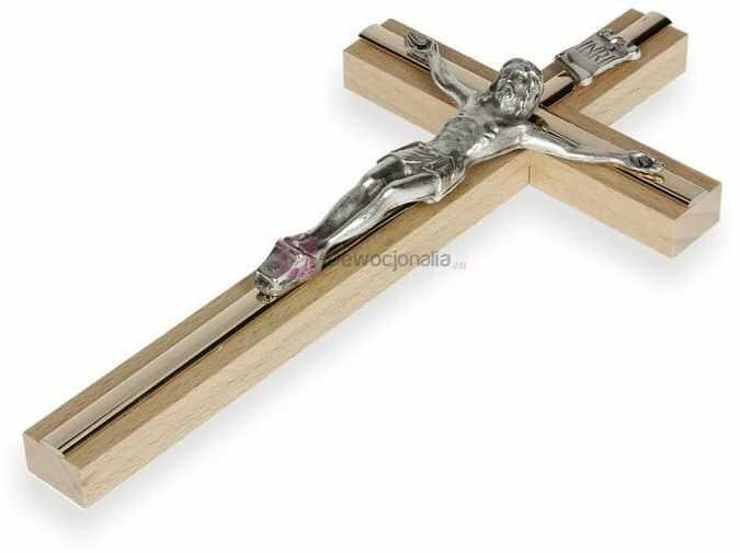 Krzyż na ścianę 32cm - kolorystyka do wyboru