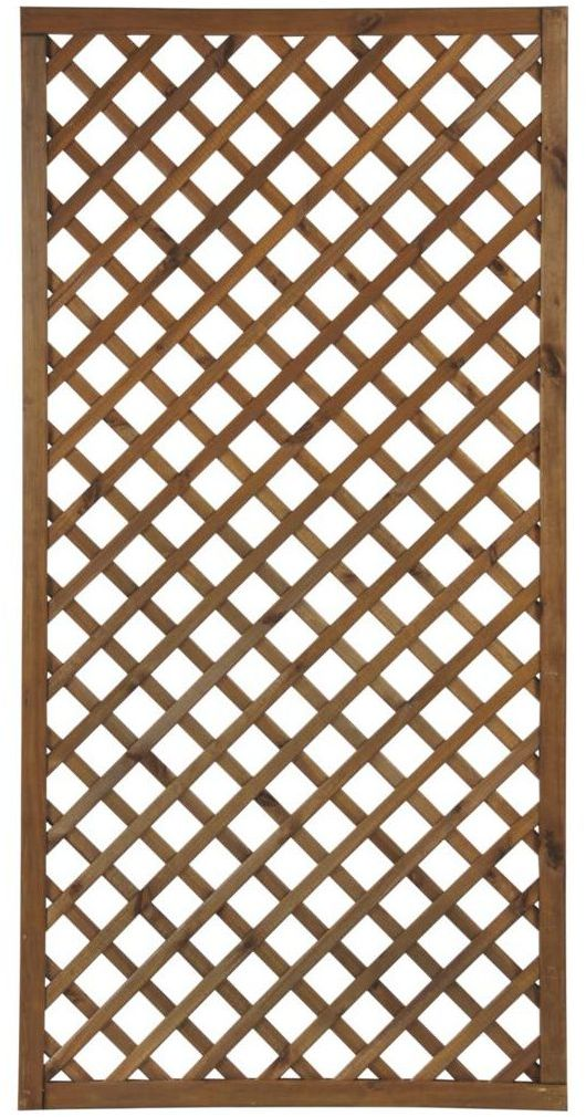 Płot kratkowy 90x180 cm drewniany NIVE NATERIAL