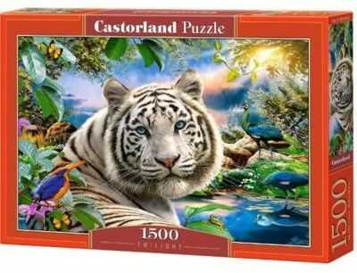 Puzzle Castorland 1500 - Zmierzch tygrys, Twilight