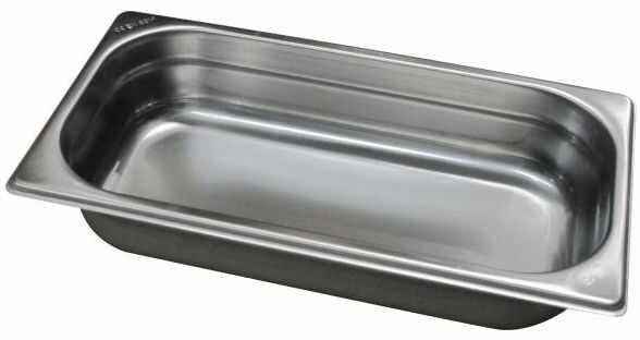 Gastropojemnik GN 1/3 gł. 10 cm ze stali nierdzewnej