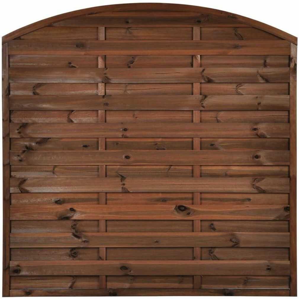 Płot szczelny 180x180 cm drewniany NIVE NATERIAL
