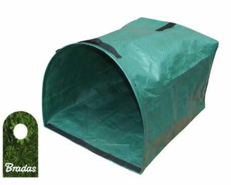 Składany kosz ogrodowy 200L PICK-UP wielofunkcyjny BRADAS 9417