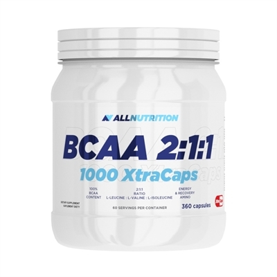 BCAA 2:1:1 1000 XtraCaps 360 kapsułek