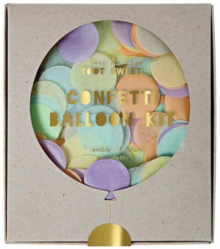 Meri Meri  Zestaw balonów Konfetti pastelowe