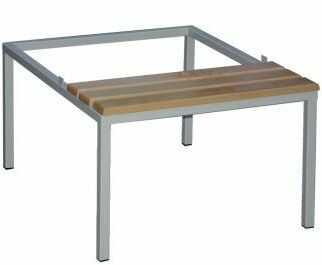 Podstawa z ławką stała do szafy socjalnej bhp P321W MALOW 600mm
