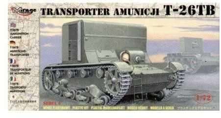 Transporter Amunicji T-26TB model do sklejania Mirage Hobby