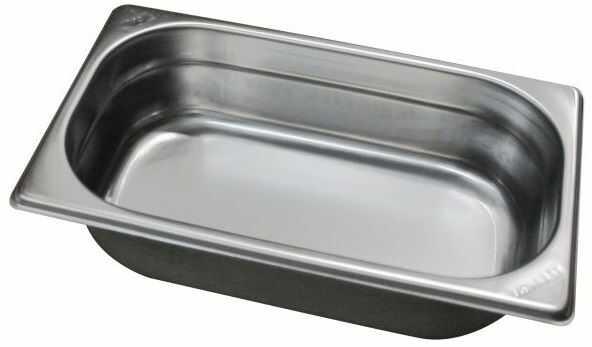 Gastropojemnik GN 1/4 gł. 4 cm ze stali nierdzewnej